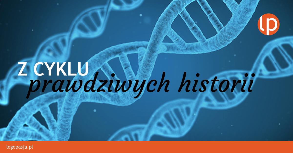 Pomiedzy genami. Historia Krzysia.